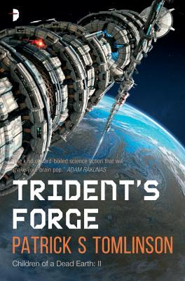 Cover for Trident's Forge (Children of a Dead Earth #2)