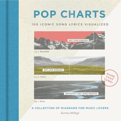 Pop Charts: 100 Iconic Song Lyrics Visualized Cover Image