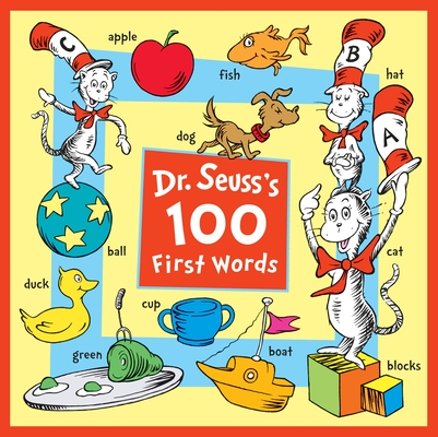 Dr. Seuss's 100 First Words Cover Image