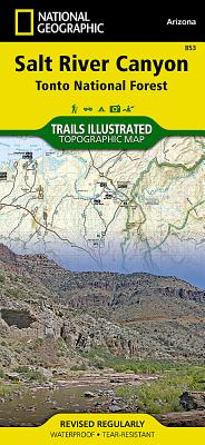 Salt River Canyon [tonto National Forest] (National Geographic Maps: Trails Illustrated #853) Cover Image