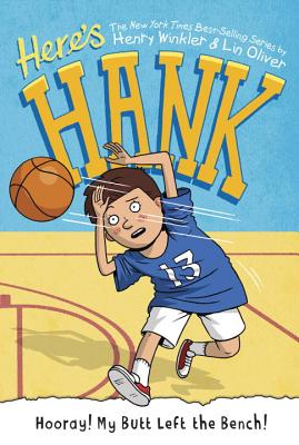 Hooray! My Butt Left the Bench! #10 (Here's Hank #10) Cover Image