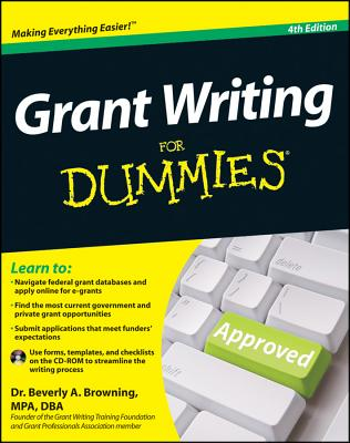 Grant Writing for Dummies [With CDROM] Cover