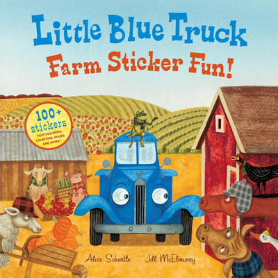 Little Blue Truck Farm Sticker Fun! Cover Image