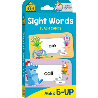 Sight Words: Flashcards Cover Image