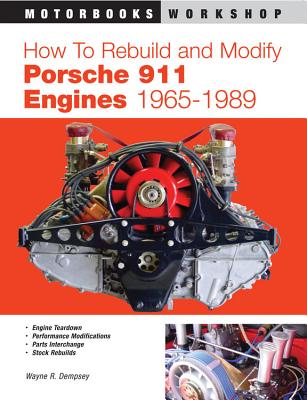 How to Rebuild and Modify Porsche 911 Engines 1965-1989 (Motorbooks Workshop) Cover Image