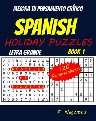 Spanish Holiday Puzzles Cover Image