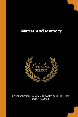 Matter and Memory Cover Image