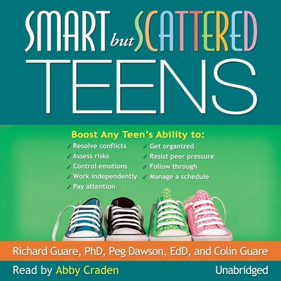 Smart But Scattered Teens Lib/E Cover Image