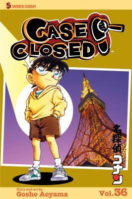 Case Closed, Volume 36 Cover