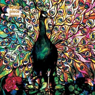 Adult Jigsaw Puzzle Louis Comfort Tiffany: Displaying Peacock: 1000-piece Jigsaw Puzzles Cover Image
