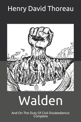 Walden: And On The Duty Of Civil Disobedience: Complete Cover Image