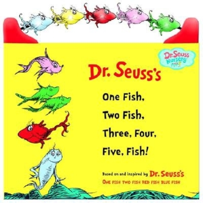 One Fish, Two Fish, Three, Four, Five Fish (Dr. Seuss Nursery Collection) Cover Image