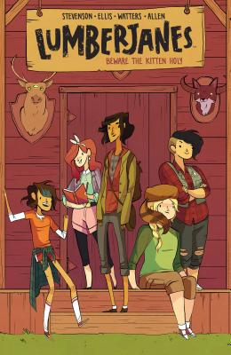 Lumberjanes Beware the Kitten Holy: Vol. 1 Cover Image