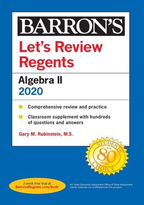 Let's Review Regents: Algebra II 2020 (Barron's Regents NY) Cover Image