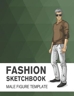 Fashion Sketchbook Male Figure Template Easily Sketch Your Fashion Design With Large Male Figure Template Indiebound Org