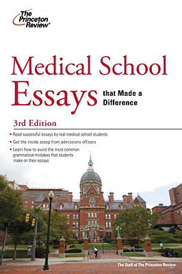 Medical School Essays that Made a Difference, 3rd Edition Cover