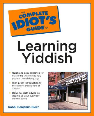 The Complete Idiot's Guide to Learning Yiddish Cover Image