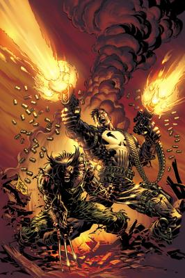 Wolverine vs. The Punisher cover