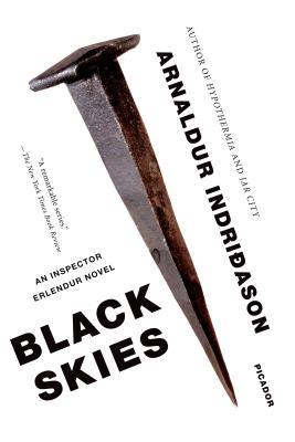 Black Skies: An Inspector Erlendur Novel (An Inspector Erlendur Series #8) Cover Image