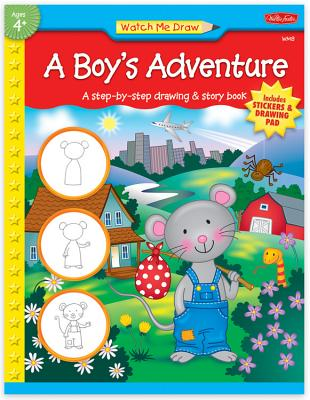 A Boy's Adventure [With Reward StickersWith Drawing Pad] Cover