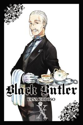 Black Butler, Vol. 10 Cover