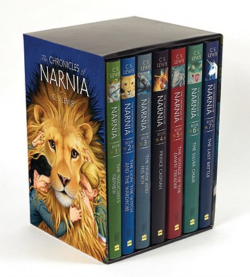 The Chronicles of Narnia Box Set: 7 Books in 1 Box Set Cover Image