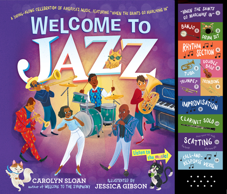 "Welcome to Jazz: A Swing-Along Celebration of America's Music, Featuring ""When the Saints Go Marching In"" Cover Image"