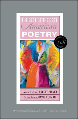The Best of the Best American Poetry Cover Image