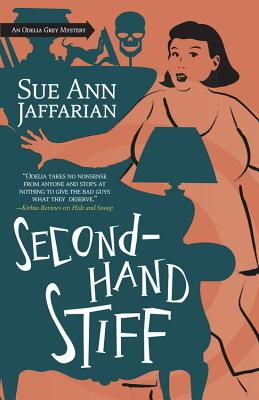 Secondhand Stiff (Odelia Grey Mysteries #8) Cover Image