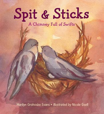 Spit & Sticks: A Chimney Full of Swifts Cover Image