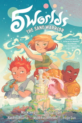 5 Worlds Book 1: The Sand Warrior Cover Image