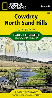 Cowdrey, North Sand Hills (National Geographic Trails Illustrated Map #113) Cover Image