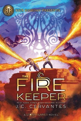 The Fire Keeper (A Storm Runner Novel, Book 2) Cover