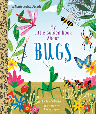 My Little Golden Book About Bugs Cover Image
