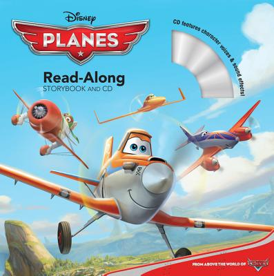Planes Read-Along Storybook and CD Cover Image
