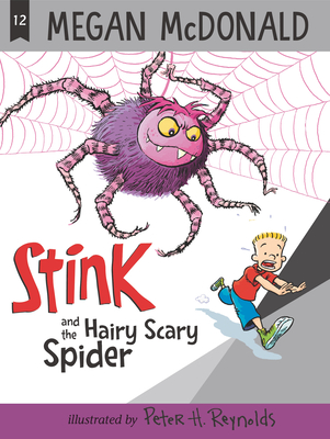 Stink and the Hairy Scary Spider Cover Image