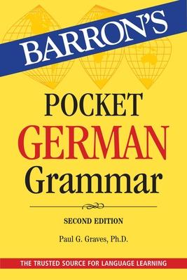 Pocket German Grammar (Barron's Grammar) Cover Image