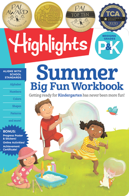 Summer Big Fun Workbook Bridging Grades P & K (Highlights Summer Learning) Cover Image