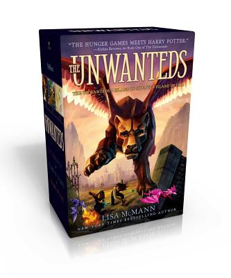 The Unwanteds: The Unwanteds; Island of Silence; Island of Fire Cover Image