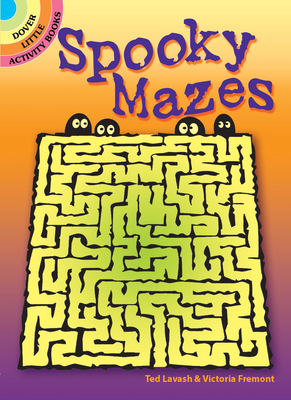 Spooky Mazes (Dover Little Activity Books) Cover Image