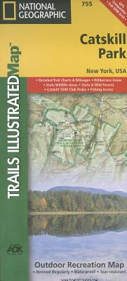 Catskill Park (National Geographic Trails Illustrated Map #755) Cover Image