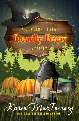 Deadly Brew (Dewberry Farm Mysteries #3) Cover Image