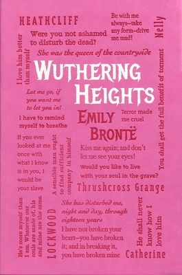 Wuthering Heights (Word Cloud Classics) Cover Image