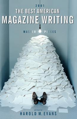 Cover for The Best American Magazine Writing 2001