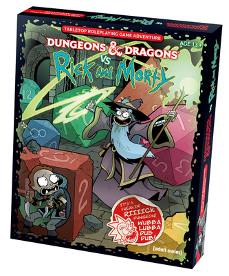 Dungeons & Dragons vs Rick and Morty (D&D Tabletop Roleplaying Game Adventure Boxed Set) Cover Image