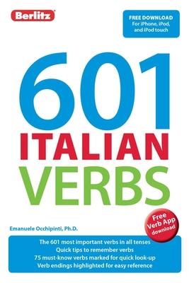Berlitz 601 Italian Verbs (Berlitz 601 Verbs) Cover Image