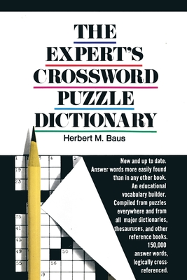The Expert's Crossword Puzzle Dictionary Cover Image