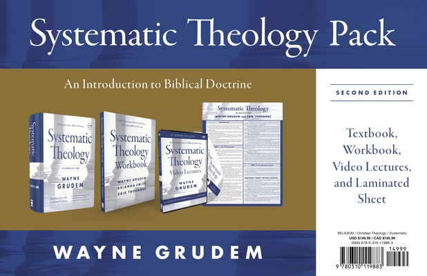 Systematic Theology Pack, Second Edition: A Complete Introduction to Biblical Doctrine [With DVD] Cover Image