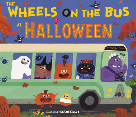 The Wheels on the Bus at Halloween Cover Image