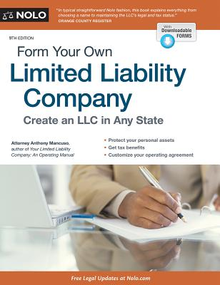 Form Your Own Limited Liability Company Paperback Politics And